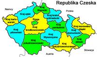 Czechy - podział administracyjny