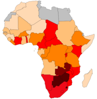 AIDS i HIV w Afryce