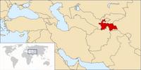 Tadżykistan na mapie