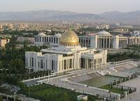 Pałac w Aszchabadzie