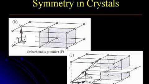 Crystallography & Mineralogy Lecture 2. Symmetry in crystals Part 2