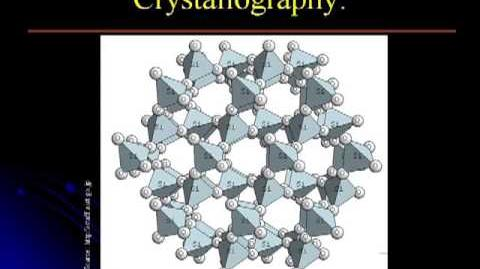 Crystallography & Mineralogy Lecture 1. Introduction to Crystallography Part 1