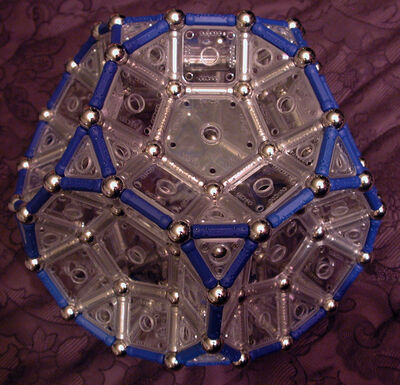 Truncated Dodecahedron - Inward Cupolae