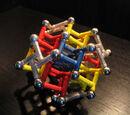 Alternative Truncated Octahedron using Alternative Tetrahedron Modules