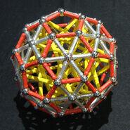 Truncated icosahedron d