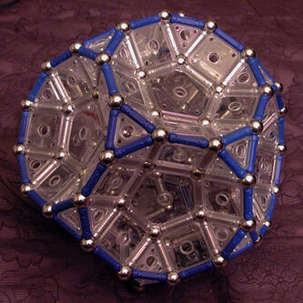 Truncated Dodecahedron (Left View)