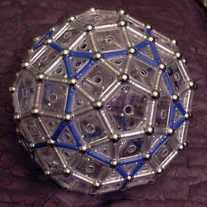 Augmented Truncated Dodecahedron S2T (1 Twist)