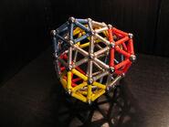 Snub exp (0 0 12 17) deltahedron c