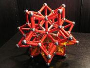 Stellated rhombic triacontahedron b