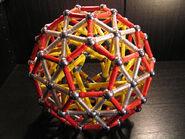 Truncated icosahedron b