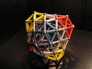Snub exp (0 0 12 17) deltahedron