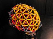 Pentagonal deltahedron d