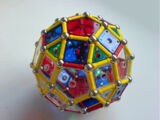 Rhombicosidodecahedron (with panels)