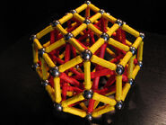 Bi elongated rhombic triacontahedron b