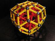 Bi elongated rhombic triacontahedron d