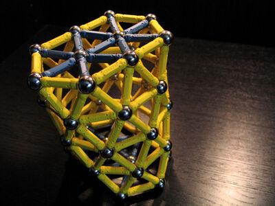 Ext elongated hexagonal antiprism