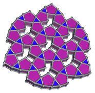 SEVEN Pentagonal and Triangular Prisms Triangles