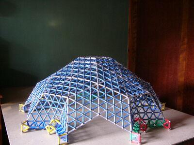 Domo geodesico 2