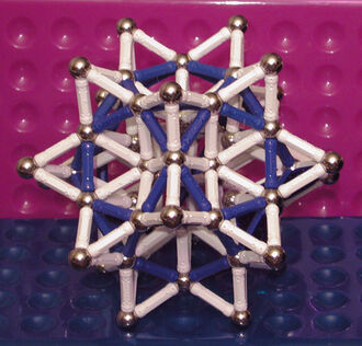 Stellated Rhombic Triacontahedron - R