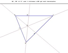 Triangle Cévienne1