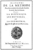 Descartes La Géométrie
