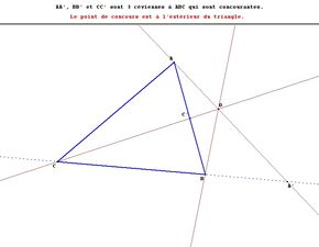 Triangle Cévienne2