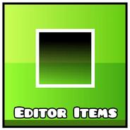 Editor Items