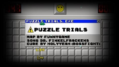 -Geometry dash- - 'Puzzle trials' by FunnyGame