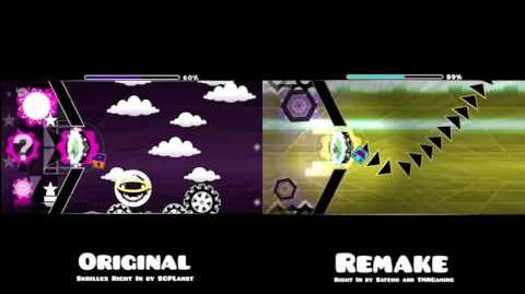 Comparison of the original to the remake