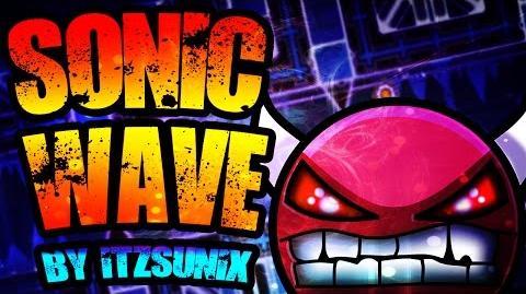 "On Stream ""Sonic Wave"" by ItzSunix (Extreme Demon) 100% Geometry Dash 2"