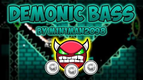Geometry Dash Demon Hard - Demonic Bass - by M1n1man2098 (All Coins)