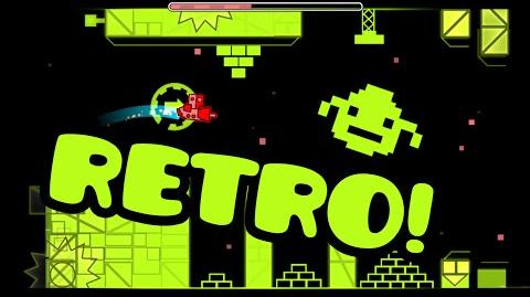 MUY RETRO! Geometry Dash -1