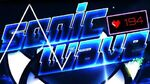 """(EXTREME DEMON) """"SONIC WAVE"""" 100% by Cyclic - Geometry Dash"""