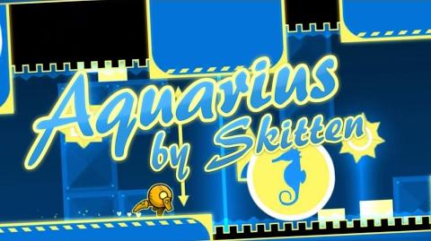 Aquarius (3 Coins) - Skitten (me) - Geometry Dash -2.1-