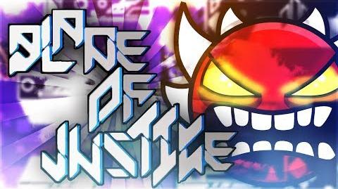 """BLADE OF JUSTICE"" EXTREME DEMON by Manix & Lazerblitz! - Geometry Dash 2.1 GuitarHeroStyles-1"