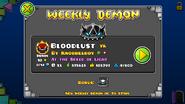 Bloodlust weekly