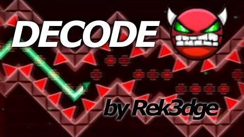 Geometry Dash Demon (Very Hard) - DeCode - by Rek3dge