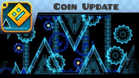 Geometry Dash - Forsaken Neon Coin Update!