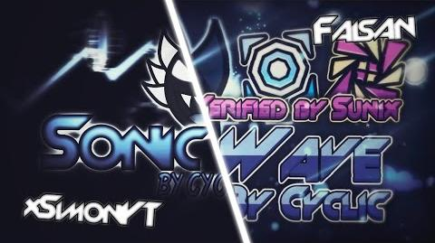 """Sonic Wave"" 100% by Cyclic -Live- - Geometry Dash 2.0 - Sunix"