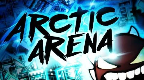 Geometry Dash - Arctic Arena (Extreme Demon) by Eclipsed & More
