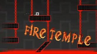 Fire Temple by Michigun - Geometry Dash
