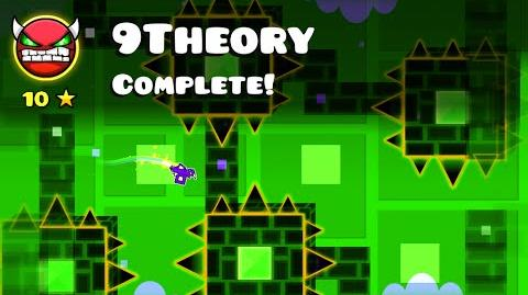 Geometry Dash - Hinds (me) - 9Theory (Very Hard Demon)