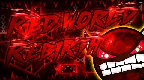 Geometry Dash - Red World Rebirth - -DEMON- - Published by- Riot - (On Stream)