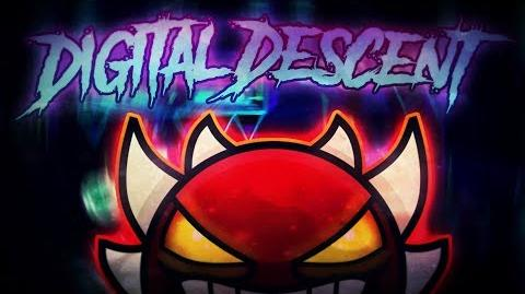 -Geometry Dash- Digital Descent 100% By ViPriN and more (Live)