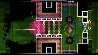 Geometry Dash - New Level - Cosmic Rage - Noobas