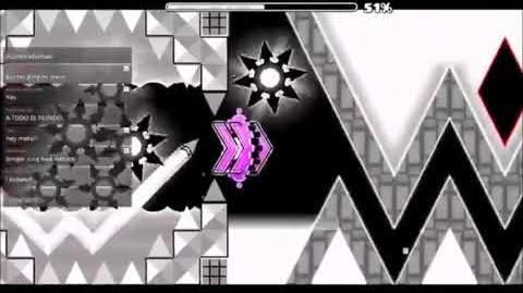 Geometry Dash l Death Corridor by Kaotikjumper