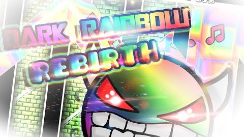 81K OBJ! - Geometry Dash - Very Hard Demon! - Dark Rainbow Rebirth by me (verified by Rlol)