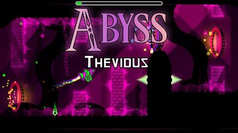-Level request 9- Feature worthy! ~ Abyss by Thevidus - Geometry dash