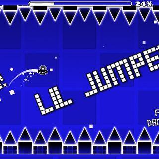 El primer nivel de la serie: Lil Jumper!
