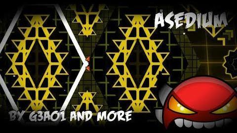 Asedium By G3A01, ItsJoxe And Eurmask (Demon) Verified - Geometry Dash